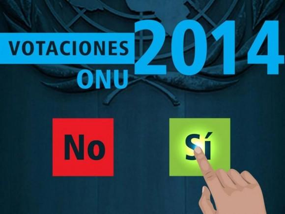 bloqueo votación en onu