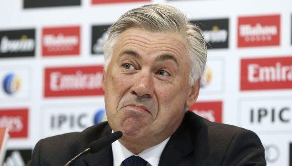 Carlo Ancelotti. Foto: EFE.