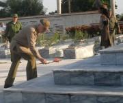 ceremonia martires del frente norte