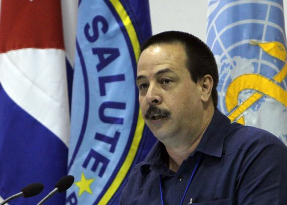 Jose Angel Portal  vice ministro de Salud Publica de Cuba.  Foto: Ismael Francisco/Cubadebate.
