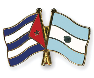 Cuban and Argentinean Military Strengthen Relations