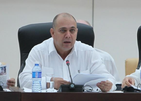 Roberto Morales, Ministro de Salud de Cuba. Foto: Ismael Francisco/ Cubadebate.