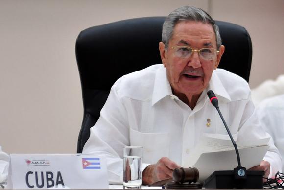 Raúl Castro deja inaugurada la Cumbre. Foto: Ladyrene Pérez/ Cubadebate.
