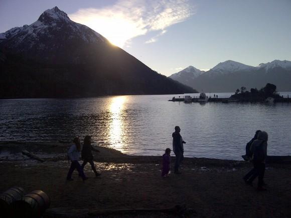 El lago Nahuel Huapi, Bariloche, Argentina Foto: Ivian Alfonso / Cubadebate