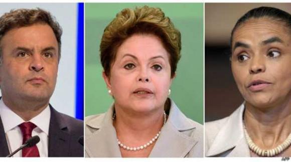 elecciones en brasil dilma marina neves