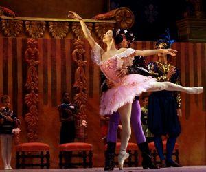 """La Bella Durmiente"""" interpretado por el Ballet Nacional de Cuba durante el XXI Festival Internacional de Ballet de La Habana, el 30 de Octubre 2008."""