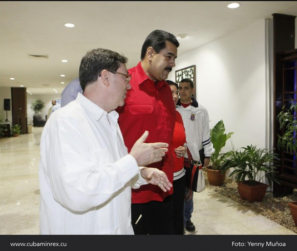 """""""Es necesario unificar criterios. Es un buen paso (la cumbre). El ALBA va a la vanguardia en un tema que viene preocupando y alarmando a la opinión pública mundial. Debemos unificar los protocolos de actuación"""", afirmó el mandatario en un breve discurso en el aeropuerto José Martí tras ser recibido por el canciller cubano Bruno Rodríguez y acompañado de otras autoridades locales y venezolanas."""