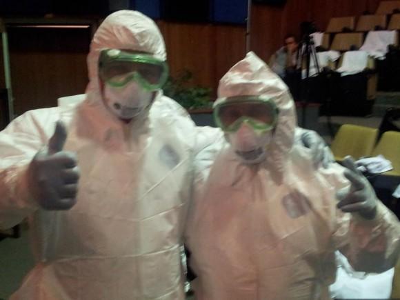 medicos cubanos en liberia ebola