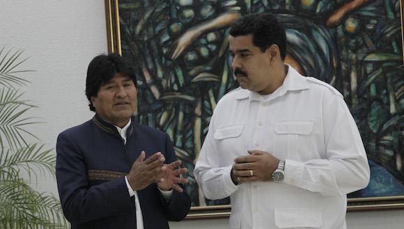 Conferencia de prensa de Maduro y Evo: Para los países del ALBA lo primero es la vida