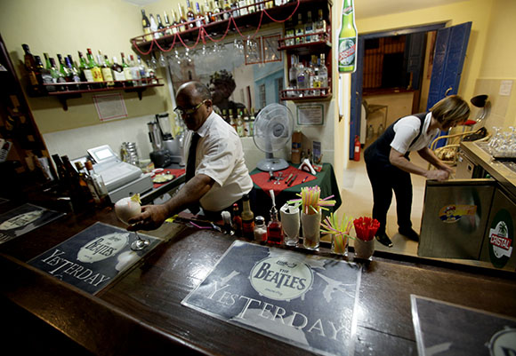 Bar Yesterday. Foto: Ismael Francisco/ Cubadebate.