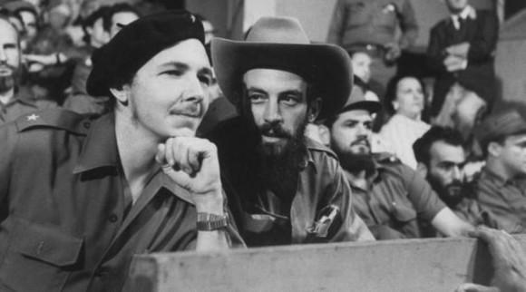 Con Raúl Castro.