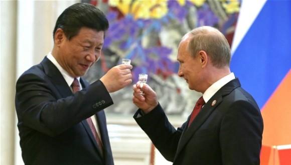 rusia  y china y los negocios