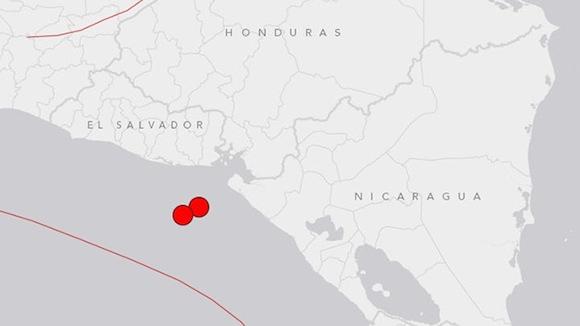 sismos El Salvador