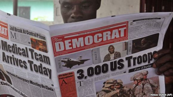 tropas de eeuu a liberia