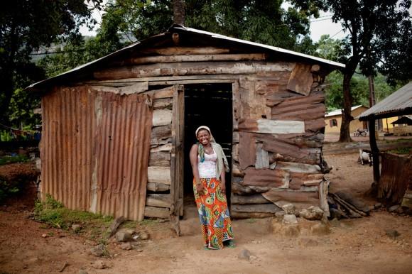 Les survivants d'ebola, Guinée Conakry, localité de Coyah, oct