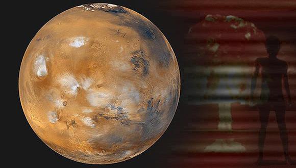 Siembra de algas en Marte, una esperanza para la humanidad