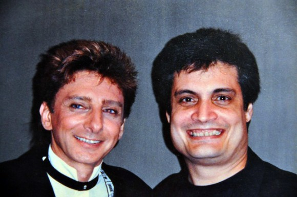 Amaury y Barry Manilow en 1995