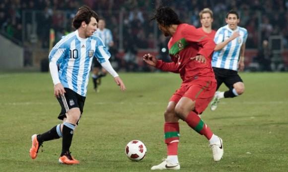 Argentina y Portugal se enfrentan en partido amistoso. (Foto: wikimedia.org)