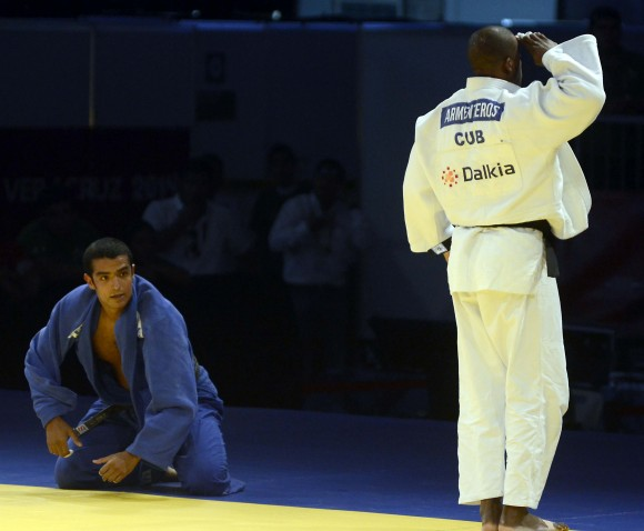 José Armaenteros, Oro en los 100 kg. Foto: Ricardo López Hevia / Granma / Cubadebate