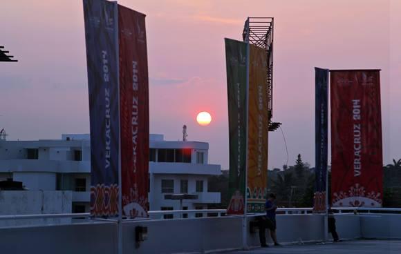 Atardecer en Veracruz. Foto: Ismael Francisco/Cubadebate.