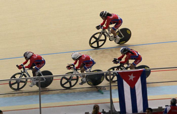 Baro wins race by points in Cuba Track Cycling Cup