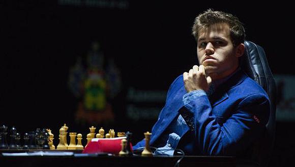 Carlsen. Foto: AP