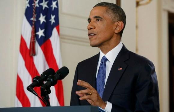 El presidente de Estados Unidos, Barack Obama, durante el anuncio del decreto en materia migratoria. Foto: Reuters
