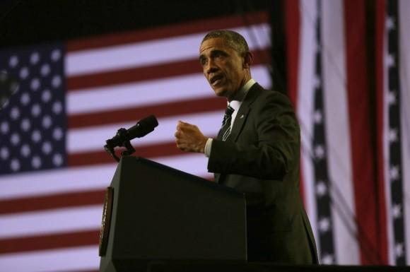 El presidente de Estados Unidos, Barack Obama, en imagen de 25 de noviembre de 2014. Foto Xinhua