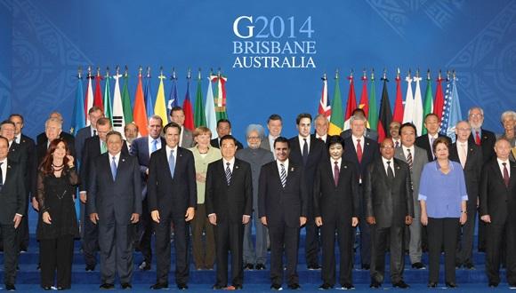 G20. Brisbane, Australia 2014