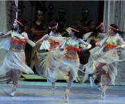 Ballet Tula, pieza de la prima ballerina assoluta Alicia Alonso, es uno de los homenajes que el XXIV Festival Internacional de Ballet de La Habana le dedica a la escritora cubana Gertrudis Gómez de Avellaneda en su bicentenario, en la Sala Avellaneda del Teatro Nacional, en La Habana. Foto: Marcelino Vázquez Hernández/AIN.