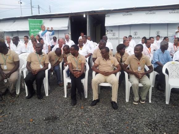 Inauguración de Hospital en Liberia
