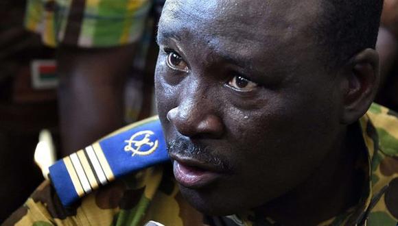 Isaac Zida. Foto: AFP.