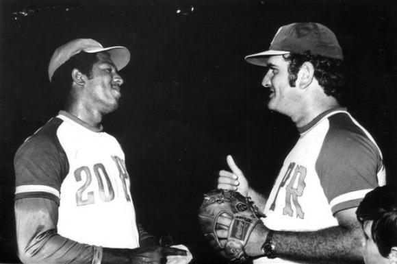 José Miguel Pineda con Juan Carlos Oliva (1978)