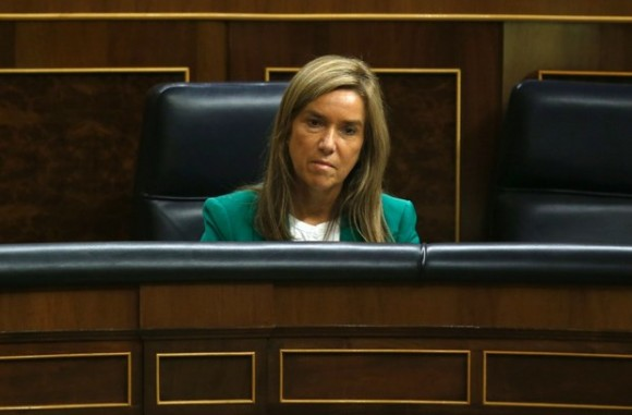 La ministra de Sanidad de España, Ana Mato, en imagen del 15 de octubre de 2014. Foto Reuters