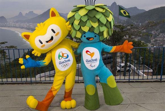 Las mascotas de los Juegos Olímpicos y Paralímpicos de Río de Janeiro 2016