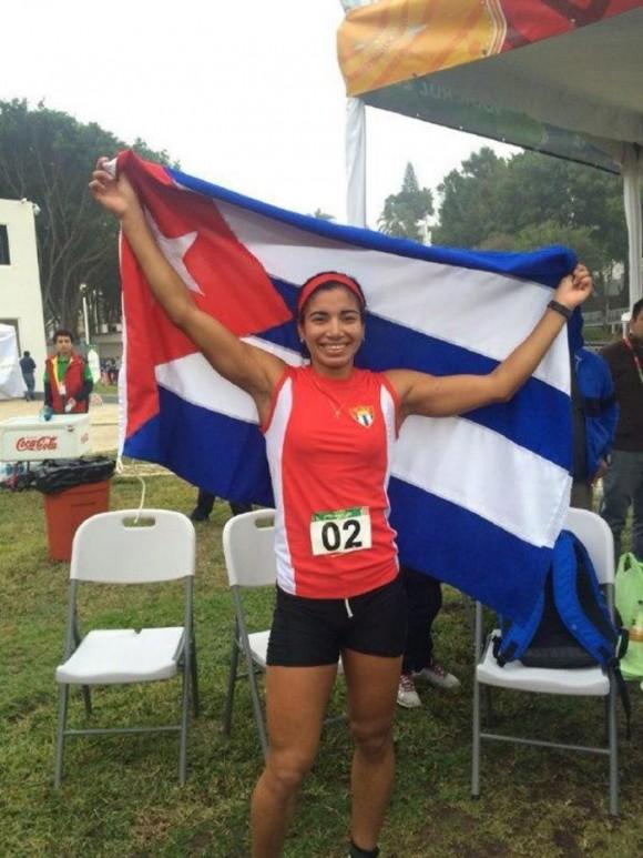 Leidy Laura Moya en Veracruz 2014. Foto: Sitio Oficial de los Juegos