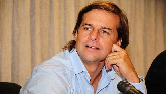 Luis Lacalle Pou. Foto: AP.