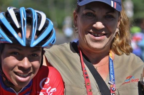 Cubanas ganan los 4 primeros en la ruta femenina.Merlies Mejías gana su 5to oro. Fot Lisset Ricardo