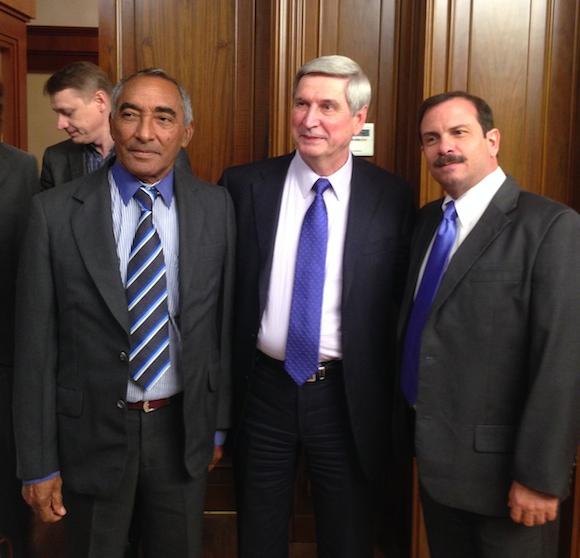 Melnikov, Fernando y Tamayo en la Duma