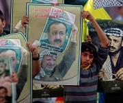 Palestinos rinden homenaje a Yasser Arafat en décimo aniversario de su muerte 11