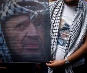 Palestinos rinden homenaje a Yasser Arafat en décimo aniversario de su muerte 13