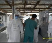 Primer día de entrenamiento intensivo en la zona roja del tercer subgrupo de la Brigada Médica Cubana en Liberia3
