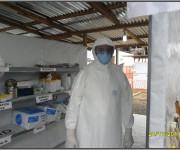 Primer día de entrenamiento intensivo en la zona roja del tercer subgrupo de la Brigada Médica Cubana en Liberia4