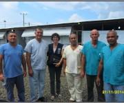 Primer día de entrenamiento intensivo en la zona roja del tercer subgrupo de la Brigada Médica Cubana en Liberia7