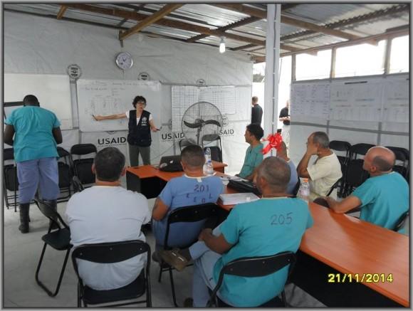 Primer día de entrenamiento intensivo en la zona roja del tercer subgrupo de la Brigada Médica Cubana en Liberia8
