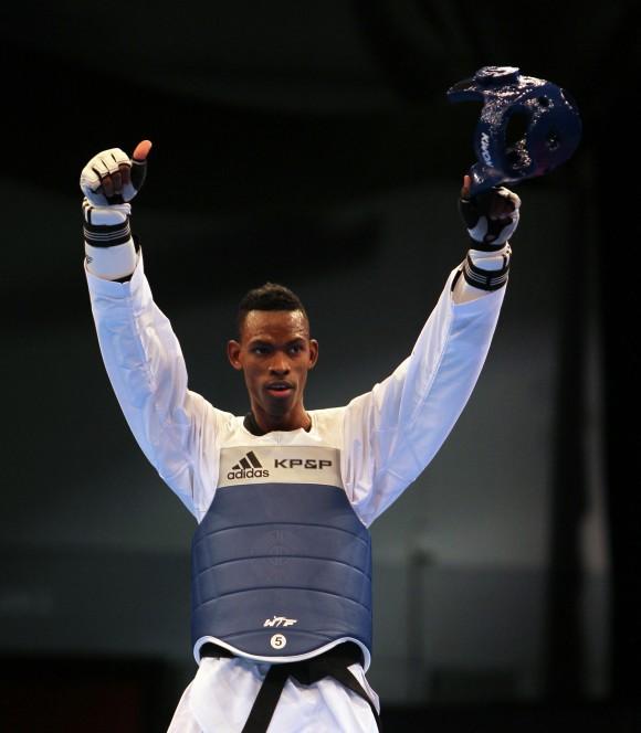 Rafael Alba Oro en los 87 Kg del Taekwondo. Foto: Ismael Francisco / Cubadebate.