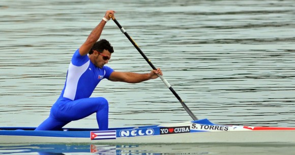 Primer oro de Cuba en Veracruz 2014 llegó en canoa