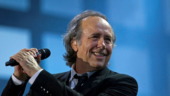 Joan Manuel Serrat. Foto: AP