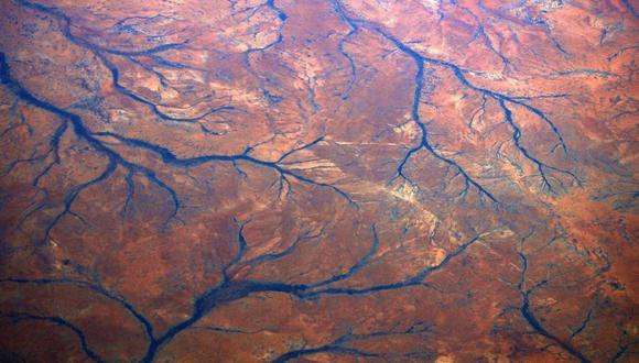 Ríos secos en la región de Pilbara de Australia Occidental. Foto: Reuters