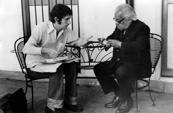 Wichy y Nicolás Guillén.